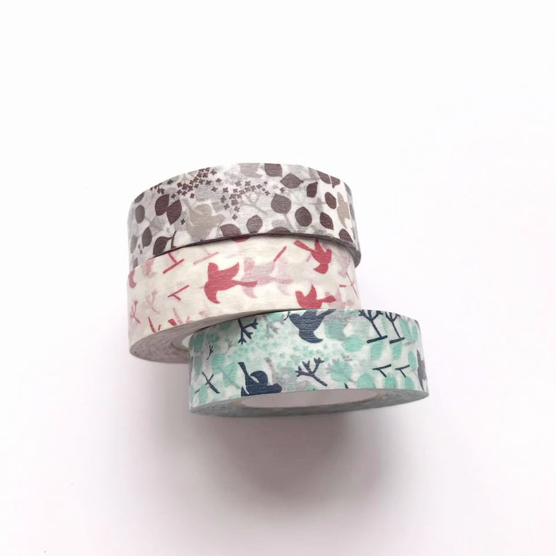 Classiky Message Bird Washi Tape