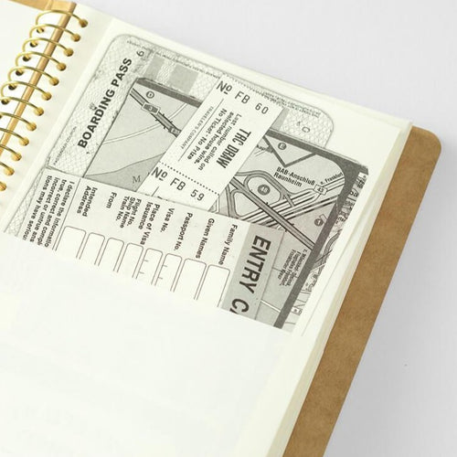TN Spiral Ring Paper Pocket Notebook