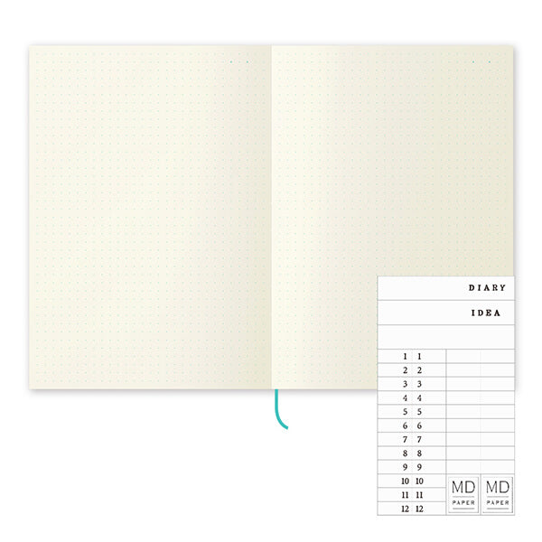 MD Notebook Journal (Dot Grid) A5