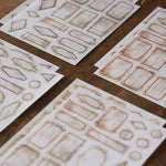 LCN Mini Vintage Label Washi Stickers