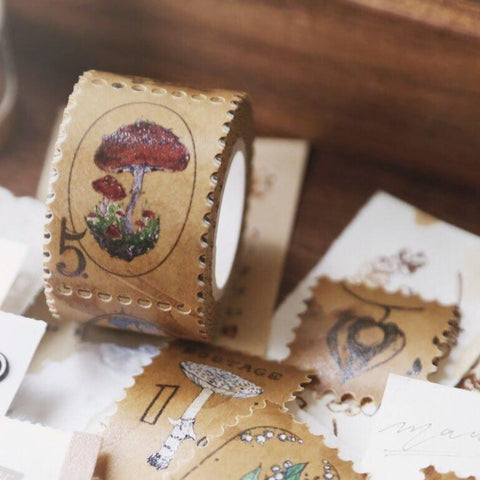 modaizhi Collection Craft Paper Tape - Postage Stamp