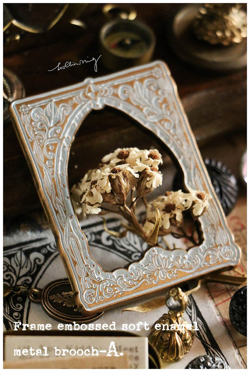 LCN Frame Metal Brooch/Pin