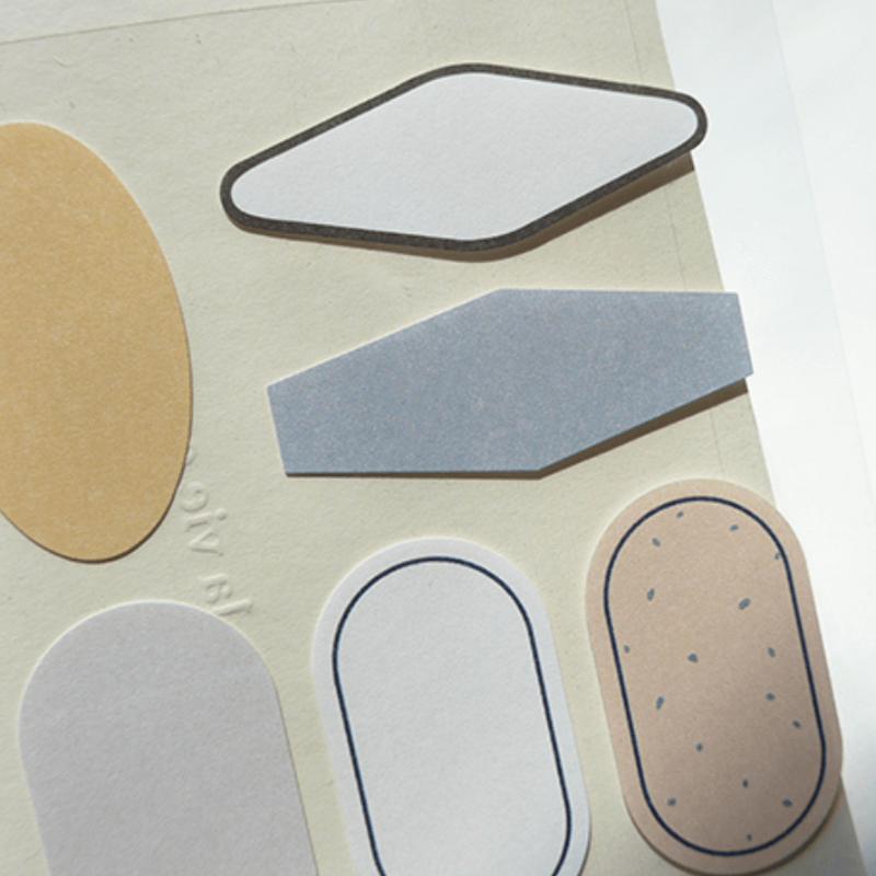 Suatelier Stickers - Geometric Plain XVI