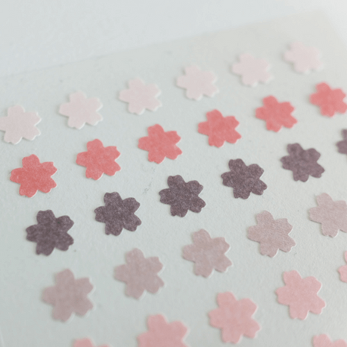 Suatelier Plain Sticker - Sakura Series