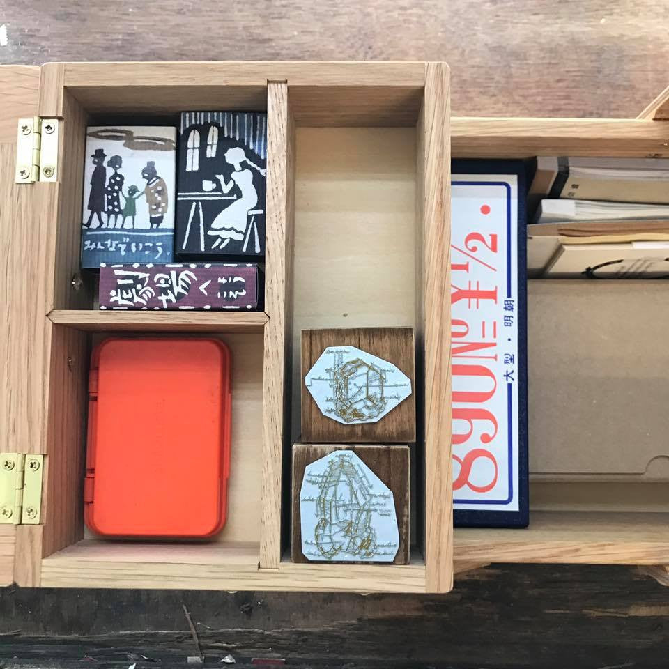 Classiky Wooden Sewing Box