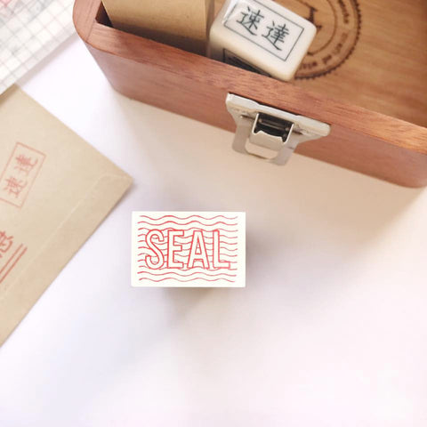 36 Sublo [SEAL] Rubber Stamp