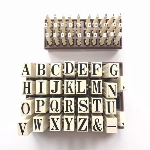 Connecting Big Alphabet Stamp Set