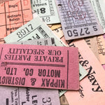 Vintage Setright Tickets (10pcs)