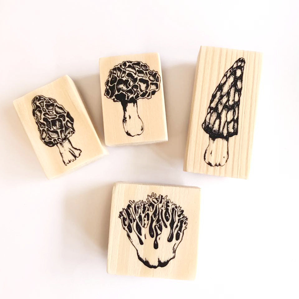 OHS Fungi Rubber Stamps Collection