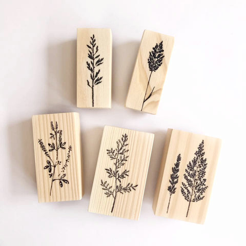 OHS Botanical Rubber Stamps Collection
