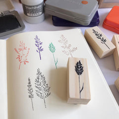 OHS Botanical Rubber Stamp Collection