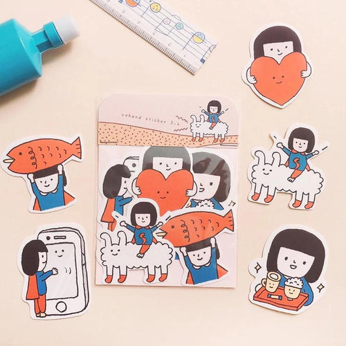 Yohand Studio Sticker Pack (3-4) Adventures