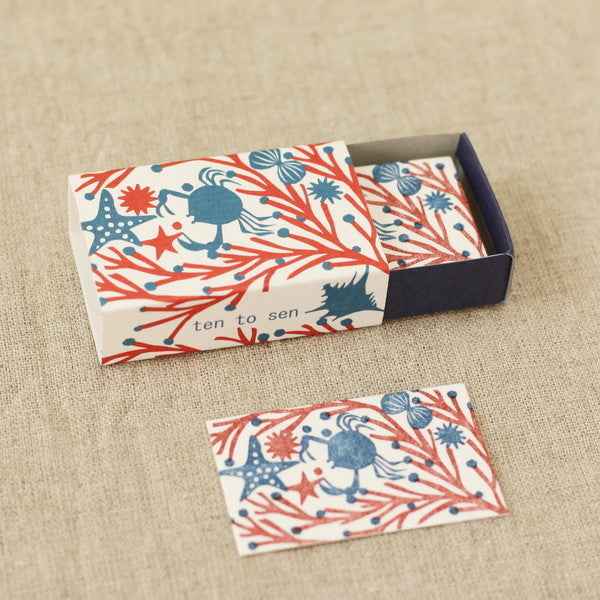 Classiky x Ten To Sen Letterpress Mini Cards