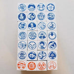 36 Sublo Seasons Rubber Stamp Set