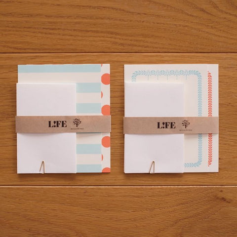 Mizushima x LIFE Mini Letter Writing Set