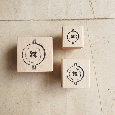 CatslifePress Rubber Stamp - Button Series