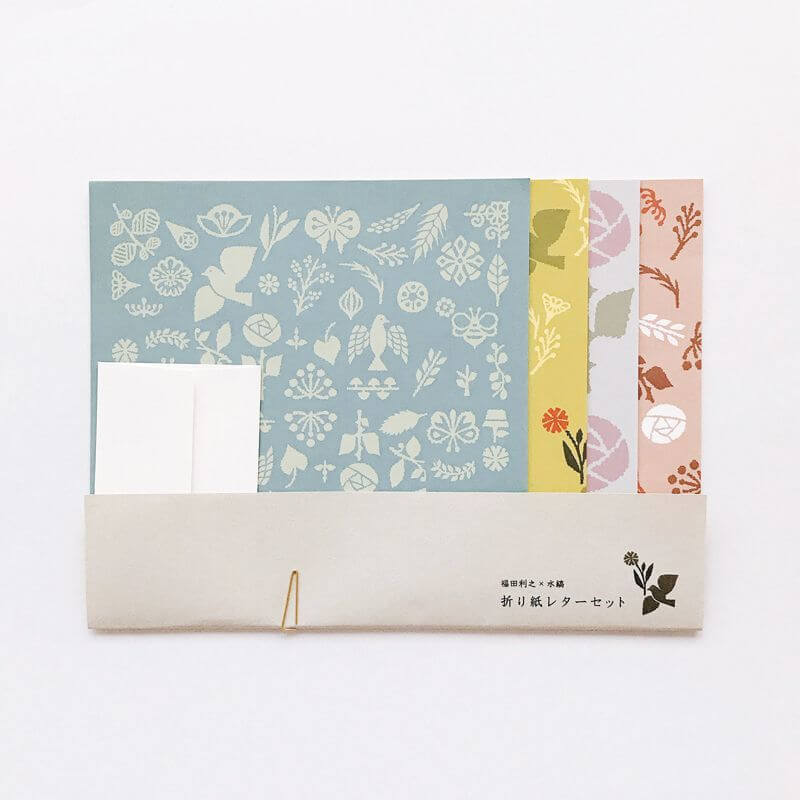 Mizushima Origami Letter Writing Set
