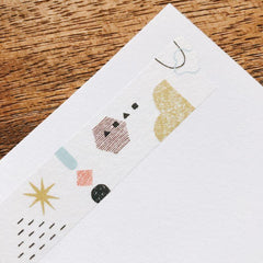 Mizushima Washi Tape - Shapes