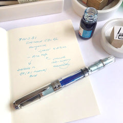 TWSBI Diamond 580AL Turquoise Fountain Pen