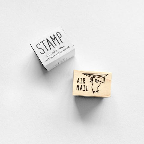 KNOOP Original Rubber Stamp - Air Mail