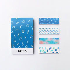 KITTA x Keina Higashide Washi Tape Stickers