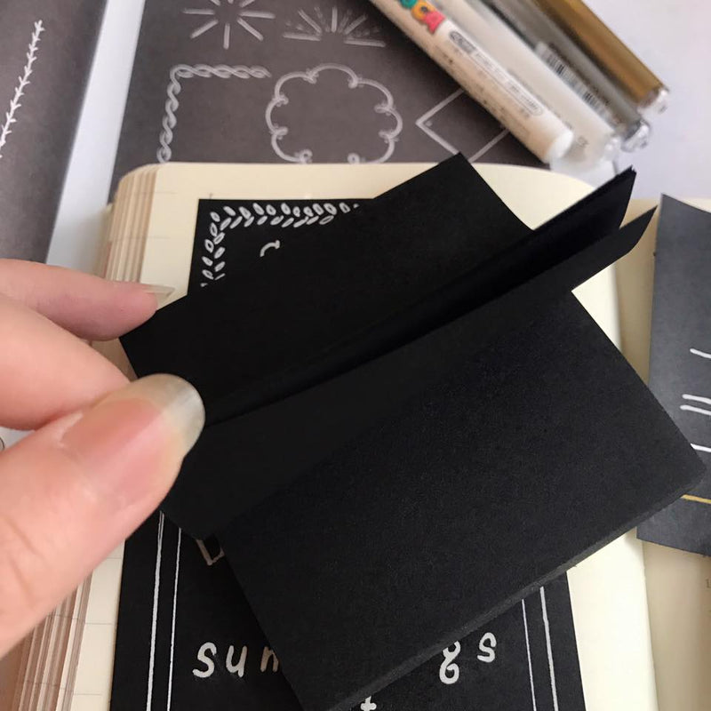 Post-it Black Memo Pads