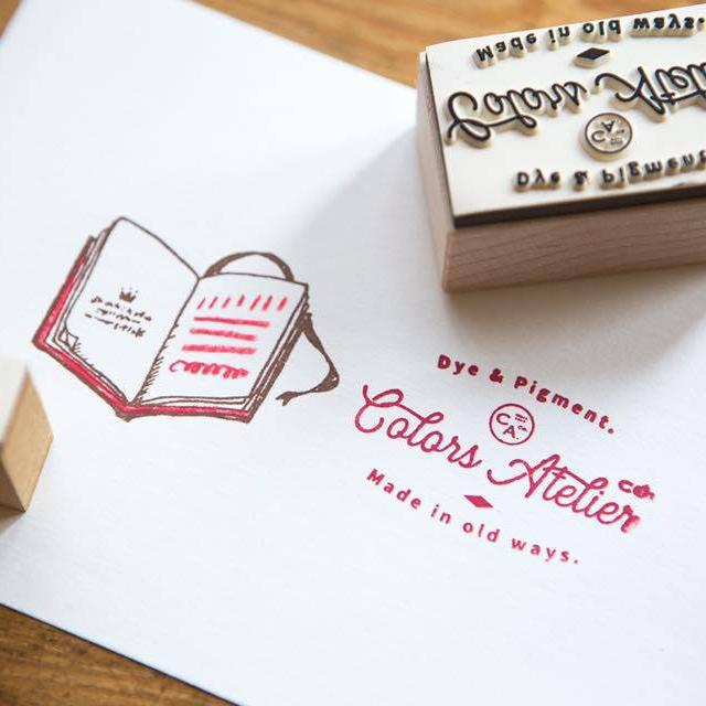 OURS Colors Atelier Logo Rubber Stamp