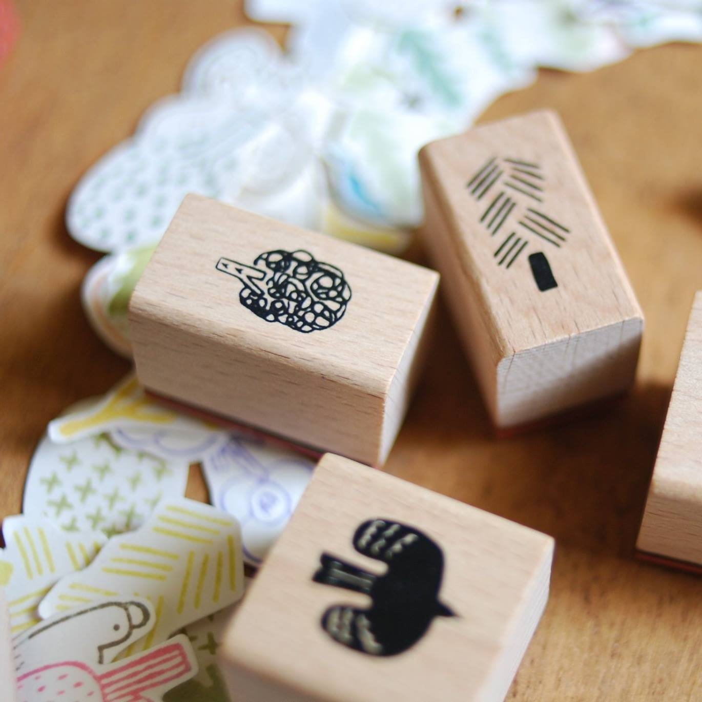 [Discon.] evakaku A Rubber Stamp - Bird