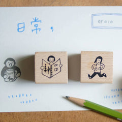 [Discon.] evakaku Want To Live Rubber Stamps Set