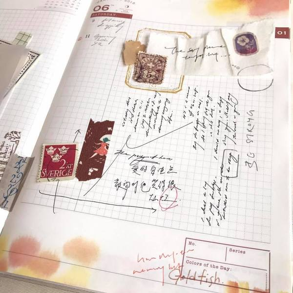 [2nd batch] Hank's Colors Atelier Diary Book 2019