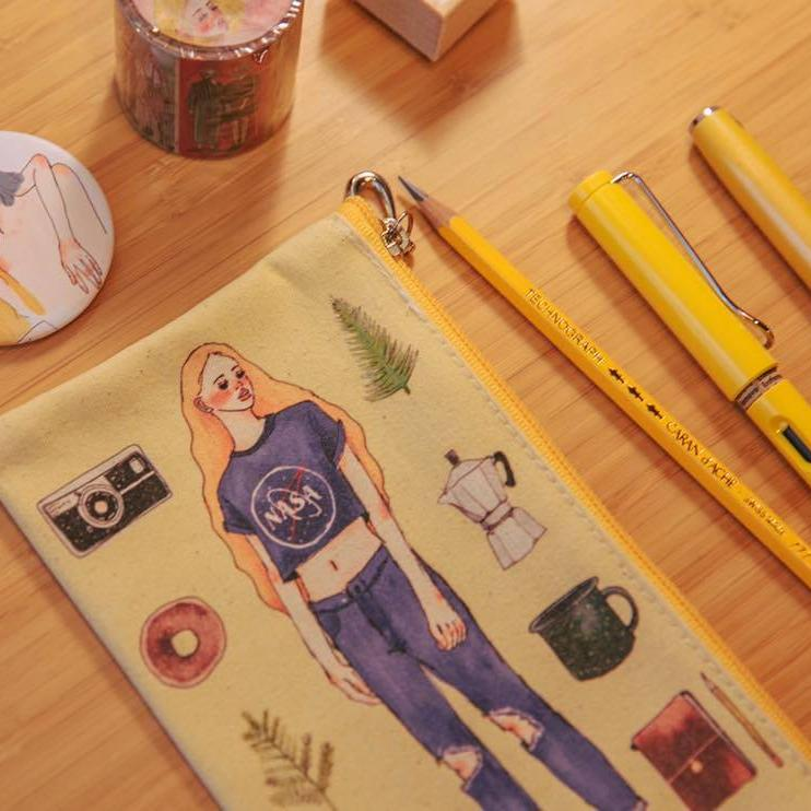 LDV Canvas Pencil Case