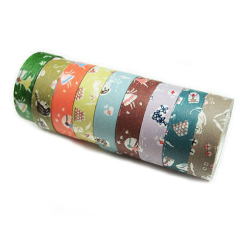 Classiky Love Letter Washi Tapes (15mm) - Set of 3