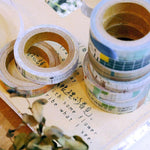 Chamil Garden 8mm Washi Tapes Set - favorite