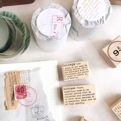 Dictionary Rubber Stamps Series