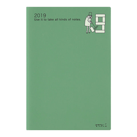 MD Pocket Diary 2019 - Ojisan (B6)