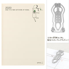MD Pocket Diary 2020 - Ojisan (B6)