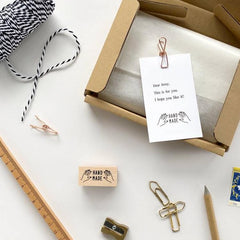 KNOOP Original Rubber Stamp - Handmade