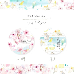 Liang Feng Washi Tapes Collection - The Song of Spring