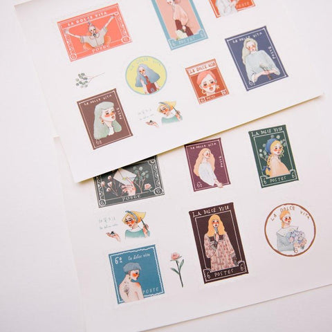 LDV Dearest Postage Stickers