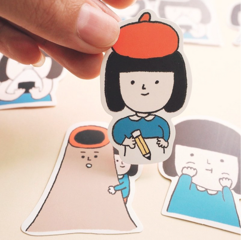 Yohand Studio Sticker Pack (3-2) Daily Life