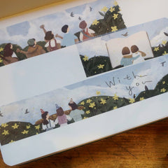 Yamadoro Washi Tapes - Friends/Missing You