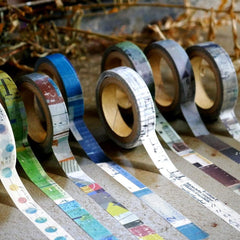 Chamil Garden 8mm Washi Tapes Set - meeting