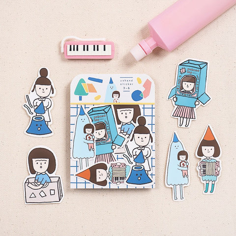 Yohand Studio Sticker Pack (3-6) Games