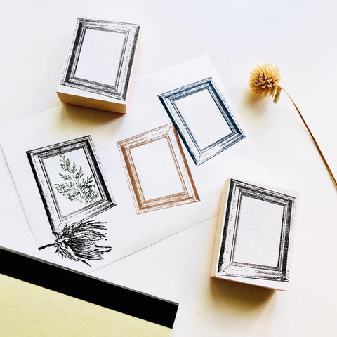 Frame Rubber Stamp