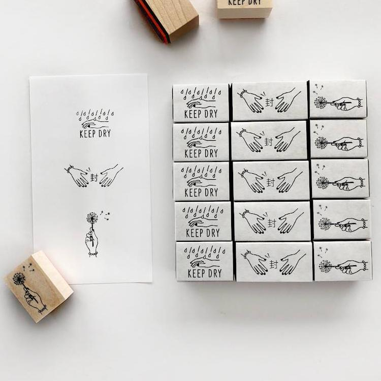 KNOOP Original Rubber Stamp - Dandelion