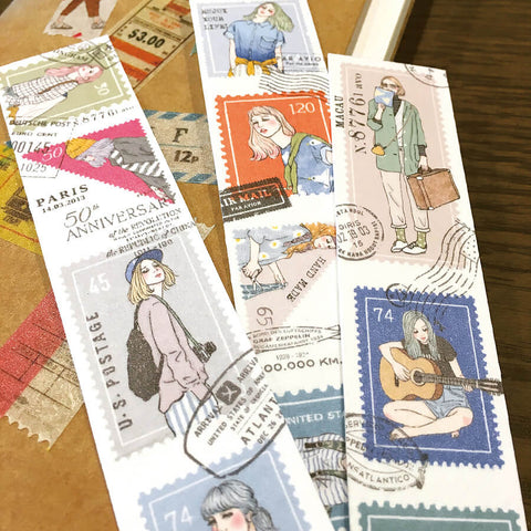 Pion: Postage Stamp Washi Tape