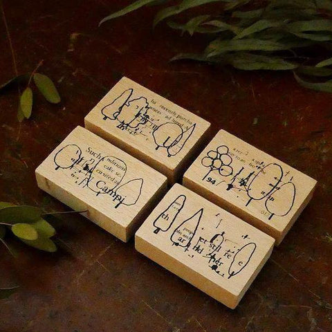 Chamil Garden 5th Anniversary Rubber Stamp Set - Tree