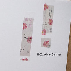 [LIMITED EDITION] YOHAKU Original Washi Tapes