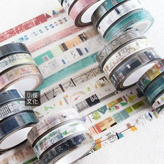 Chamil Garden 8mm Washi Tape Set - Colours of Seasons