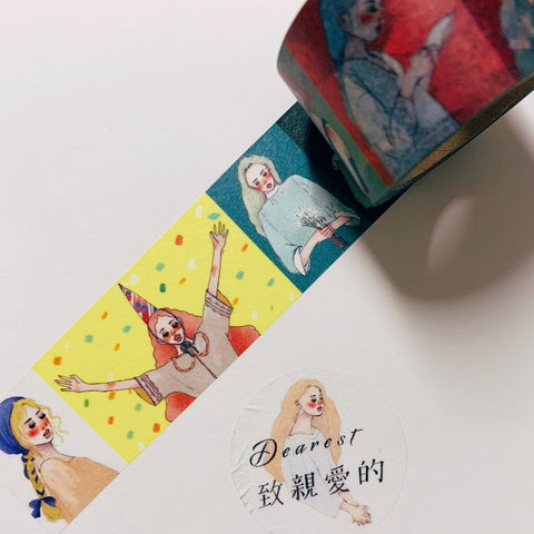 LDV Dearest Washi Tapes